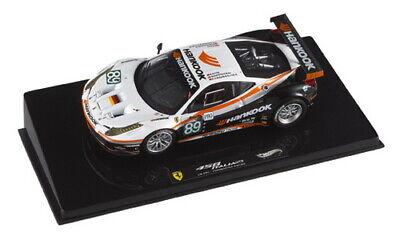 1:43 Ferrari 458 n°89 Le Mans 2011 1/43 • HOT WHEELS X5498