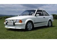 FORD ESCORTS WANTED FROM MINT RESTORED TO GARAGE FIND ** TOP PRICES PAID **