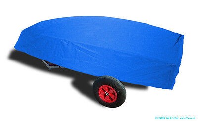 Optimist Sailboat - Boat Hull Cover - Blue Sunbrella Bottom Cover