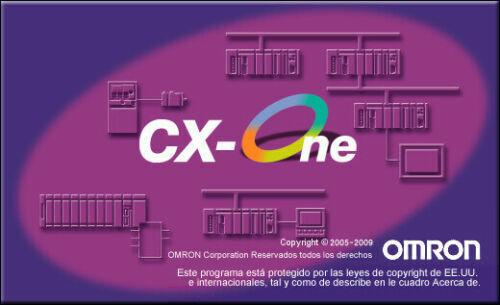 OMRON PLC SOFTWARE CX-One_V4.60 / CX-Programmer_V9.7 LICENSE KEY CXONE-AL01D-V4
