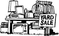 YARD / BAKE Sale Friday & Saturday