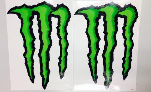 monster energy car decals ebay. Black Bedroom Furniture Sets. Home Design Ideas