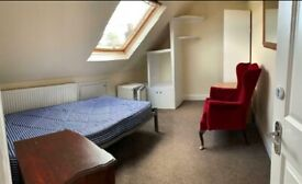 Carpeted Double Room to Rent in a Shared Detached House in Clifford Avenue, Richmond SW14