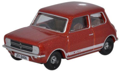 Oxford Diecast 76MINGT001 Leyland Mini 1275GT in Reynard Bronze 1:76