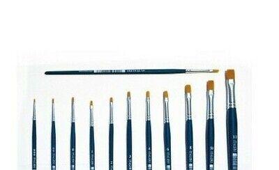 Italeri 51235 Accessory 1X Flach-Pinsel Size 12 Synthetic Hair