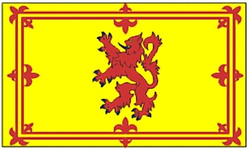 Large 3x5 High Quality 100% Polyester Scotland Rampart Lion Flag - Free Shipping