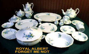 ROYAL ALBERT CHINA - FORGET ME NOT