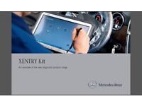 Mercedes Xentry setup with multiplexer. Dealer level software. Provided Fully setup