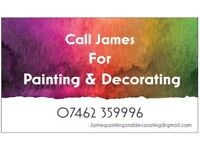 Painting & Decorating needed? No job to small and great rates. DBS checked and fully insured
