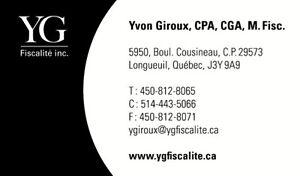COMPTABLE - FISCALISTE Longueuil / South Shore Greater Montréal image 1