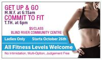GROUP FITNESS CLASSES IN BLIND RIVER!