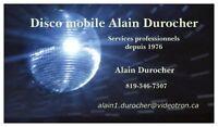 DISCO MOBILE ALAIN DUROCHER