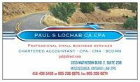 EMERGENCY TAX & ACCOUNTING SERVICES BY CA/CMA/CPA