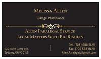 Allen Paralegal Services