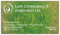 Spring Clean-up and Landscaping