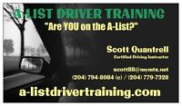 No Part Time Driving School Here! DRIVING LESSONS in Wpg