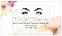 Eyelash Extensions! 15% for the month of August!