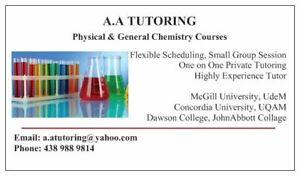 Chemistry Tutor | Trouvez un tuteur ou affichez des cours de
