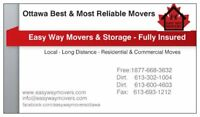 Two Movers & a Truck @ $85Hr..Best Movers in Town -fully insured