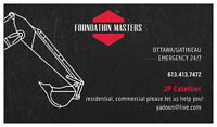 ## FOUNDATION MASTERS (613) 413-7472 ##