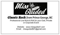 4-piece classic rock-band for hire - MISS GUIDED