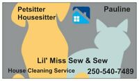 House/Pet sitter Avail. Nov.-April  great rates & reference