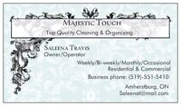 Majestic Touch - Cleaning & Organizing