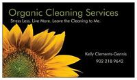 ★Organic Cleaning Services★ Stress Less. Live More.