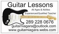 Guitar Lessons in Ridgeway/Fort Erie Area