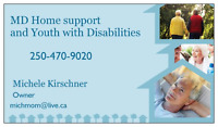 MD Home Support and Youth with  Disabilities