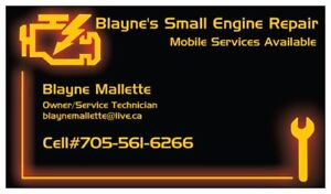 MOBILE SNOWBLOWER REPAIRS AT YOUR HOME!!