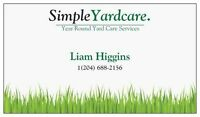 Simple Yardcare services