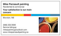 Mike Perreault painting Residential and commercial painting