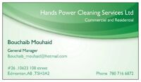 Cleaning company seeking cleaning contracts