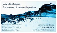Service Piscine Laval/Rive-Nord