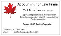 Accounting for Law Firms, PC Law, Spot Audit Help