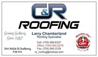 Snow is heavy can your roof handle it? Let C&R Roofing help you!