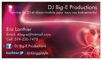 DJ with over 20 years of experience for all your events