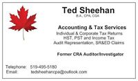 Individual, Business, Corporation Taxes - Former CRA Auditor