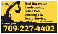 CNS Excavating services