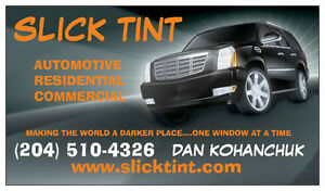 SLICK TINT- PROFESSIONAL WINDOW TINTING (LIFETIME WARRANTY)