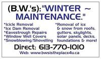 WINTER is arriving early this year. Call now & get booked in!