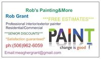 ROB'S PAINTING & MORE