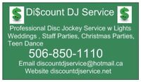 Discount DJ Service Birthday, Family