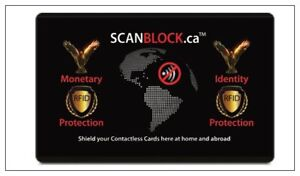 FREE - Two free SCANBLOCK Cards to protect your Tap n' Go!
