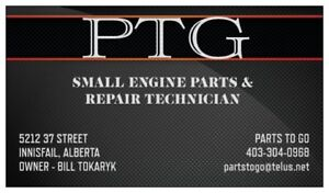 LAWNMOWER - LAWNTRACTOR - CHAINSAW - PARTS & REPAIRS - INNISFAIL