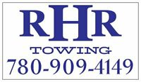 R.H.R TOWING 780-909-4149