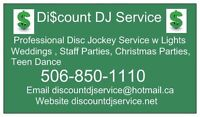Discount DJ Service Christmas Party Disc Jockey