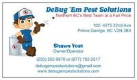 DeBug 'Em Pest Solutions
