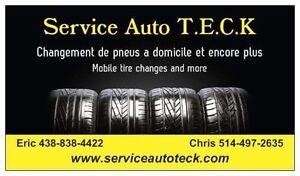Changement pneus a domicile * Home tire changes  West Island Greater Montréal image 10